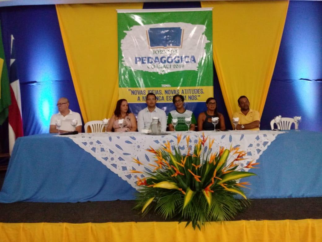 Abertura da Jornada Pedagógica 2019 é realizada com sucesso em Coaraci