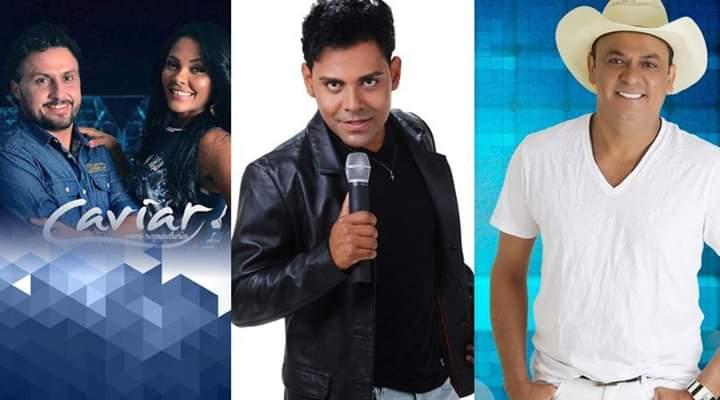 Prefeito confirma Pablo, Frank Aguiar e Caviar com Rapadura no São João Antecipado.