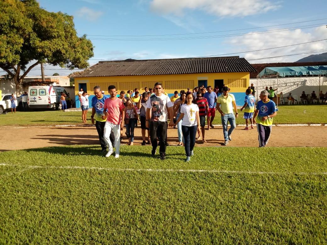 Campeonato Interbairros é iniciado com grande participação popular