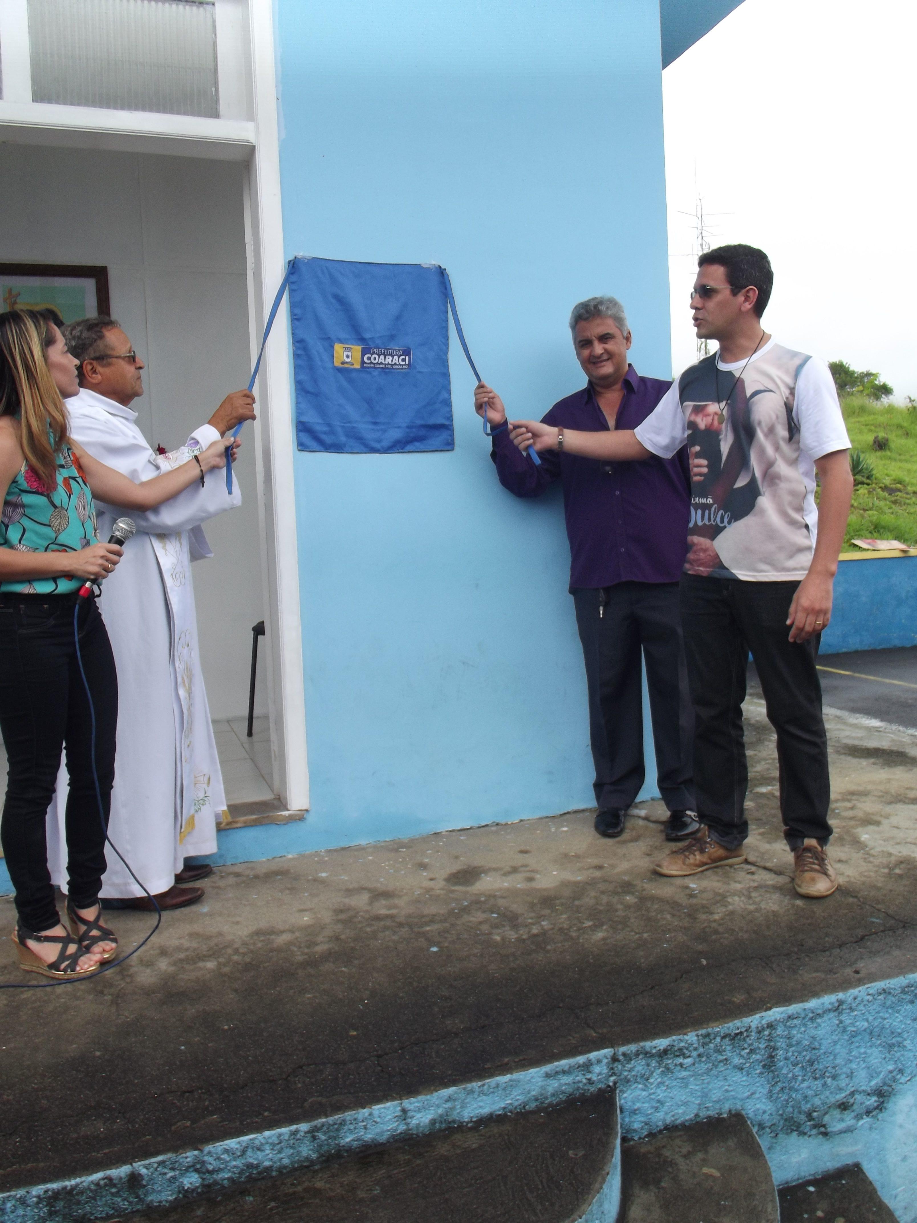 O Prefeito Jadson Albano entrega Novas Instalações da Sala de Parto Humanizado e de estabilização do Hospital Geral de Coaraci.