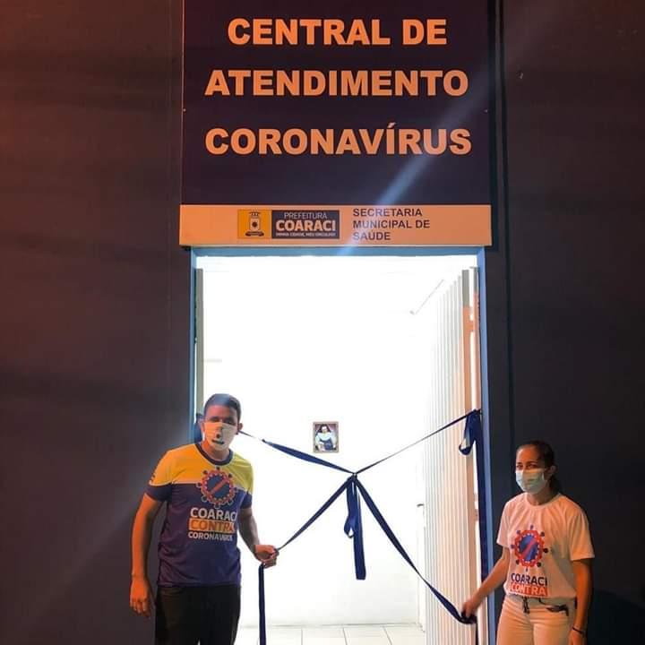 Prefeitura entrega Central de Atendimento ao COVID-19