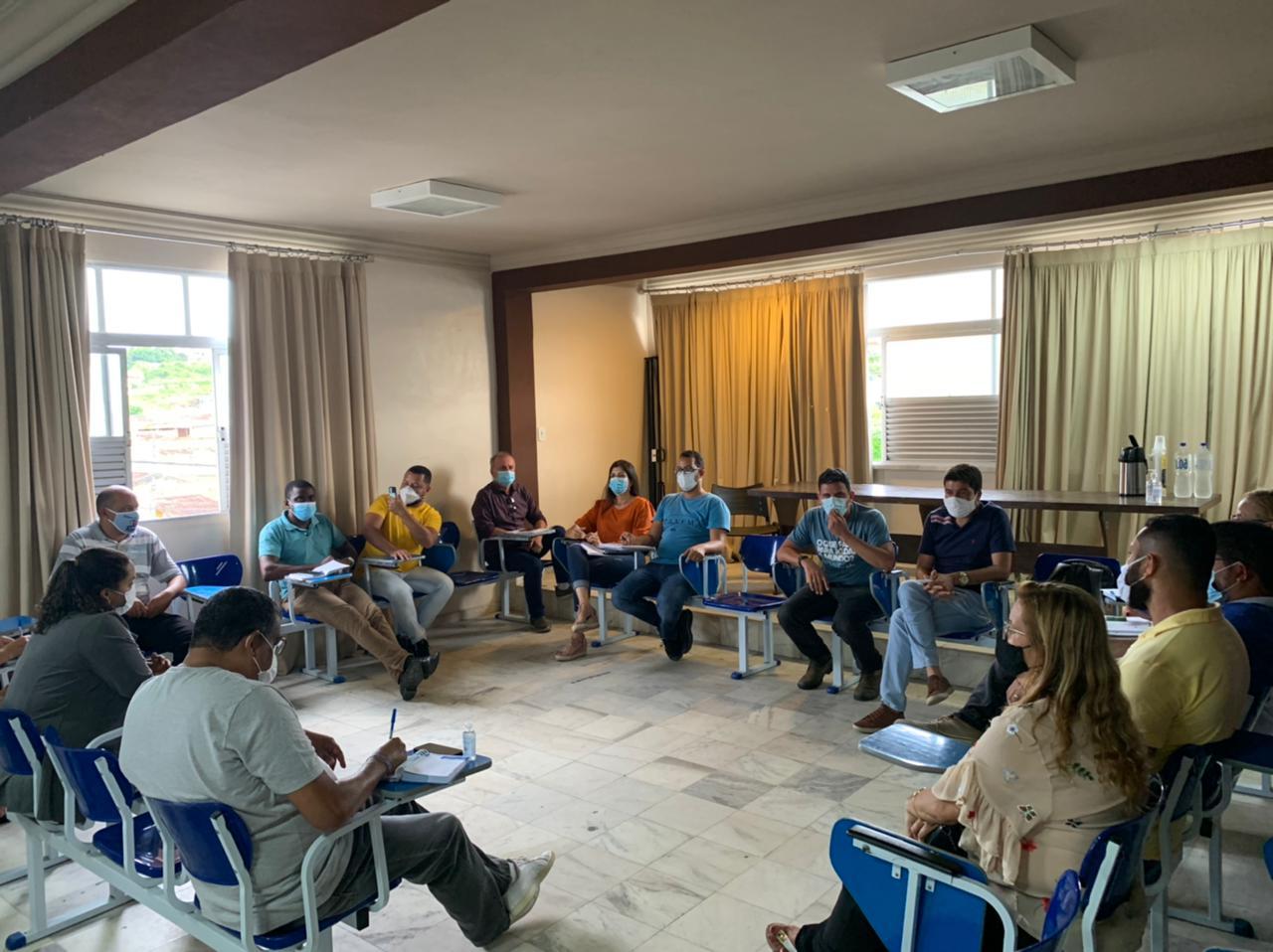 Reunião Comissão Covid-19