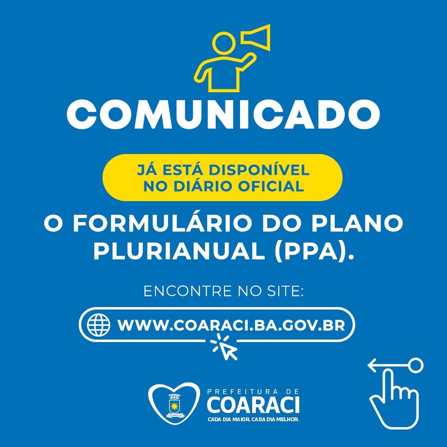 PLANO PLURIANUAL 2022/2025